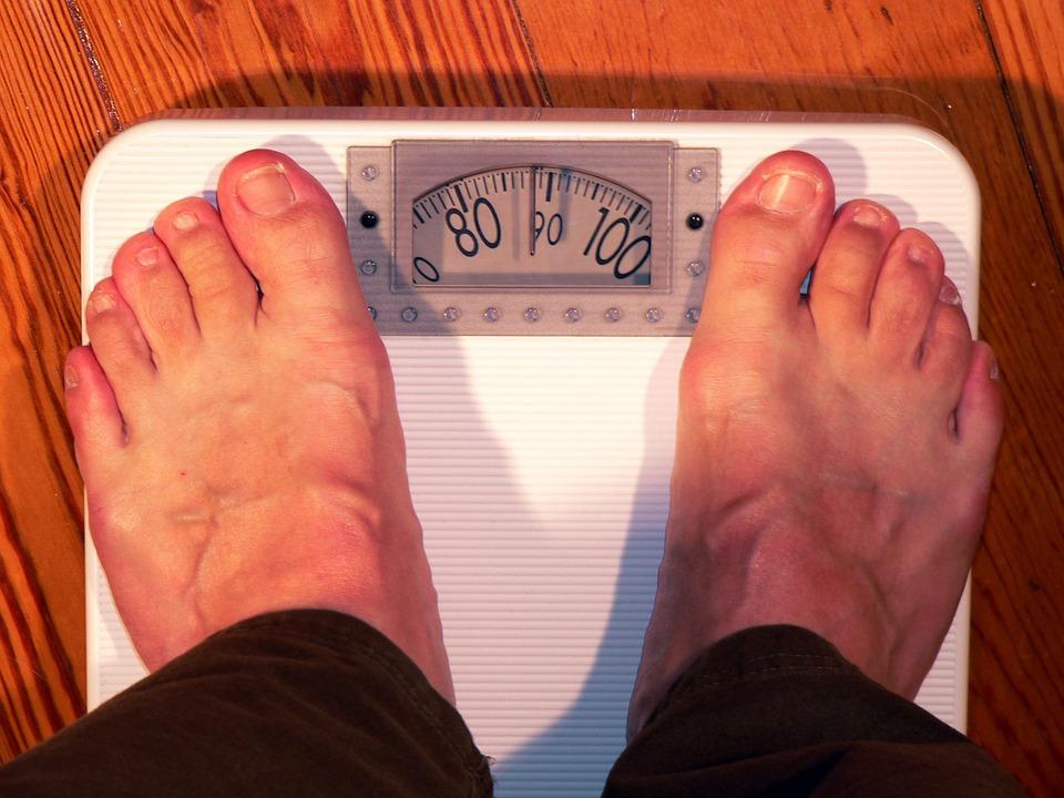 El peso de la báscula