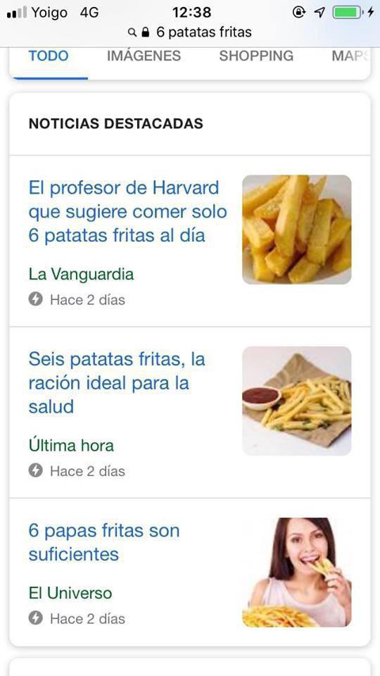 Entrenador personal Palma de Mallorca vs Patatas fritas